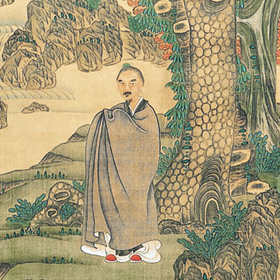 Chen Hongshou: Pine and Longevity
