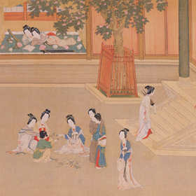 Qiu Ying: Spring Morning in the Han Palace