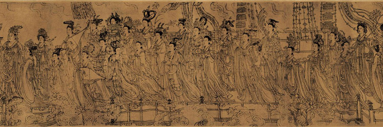 Wu Daozi: The Eighty-seven Immortals