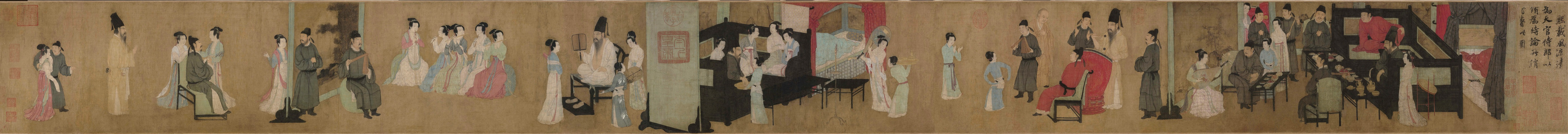 Gu Hongzhong: The Night Entertainments of Han Xizai