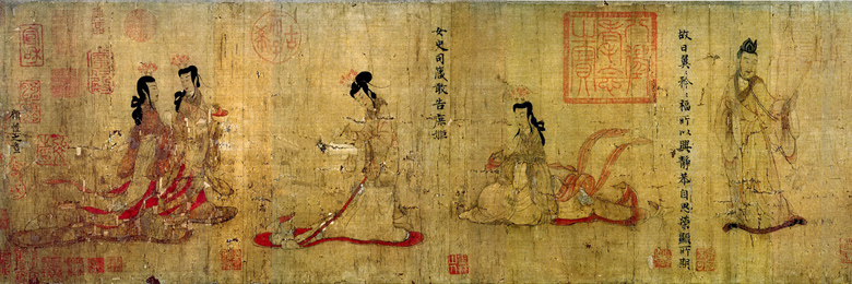 Gu Kaizhi: Admonitions of the Court Instructress