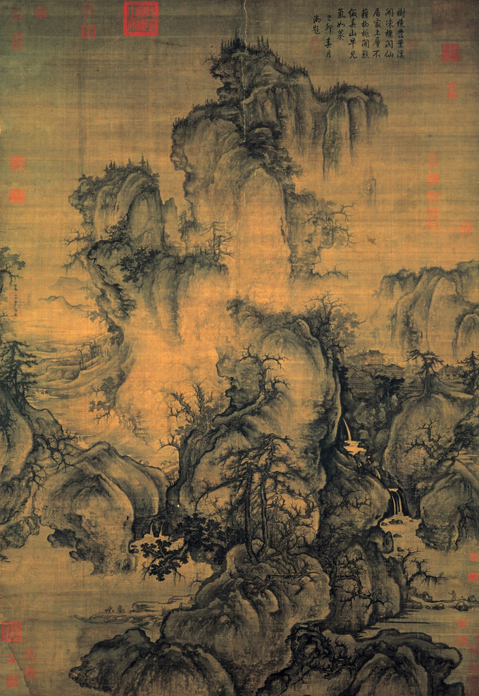 Guo Xi Early Spring Chinese Art Gallery China Online