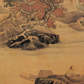 Lan Ying: Landscape after Li Tang
