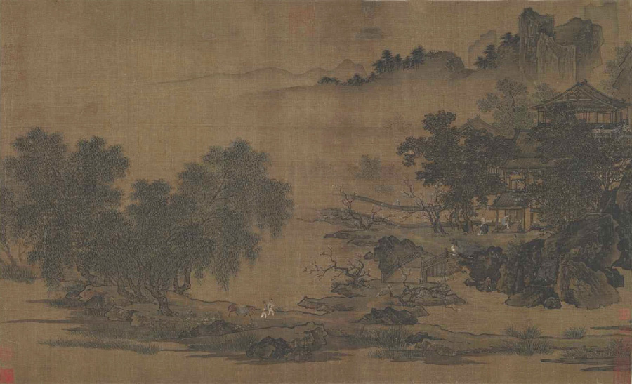 Liu Songnian: Landscape of the Four Seasons - Spring