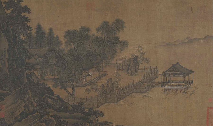 Liu Songnian: Landscape of the Four Seasons - Summer
