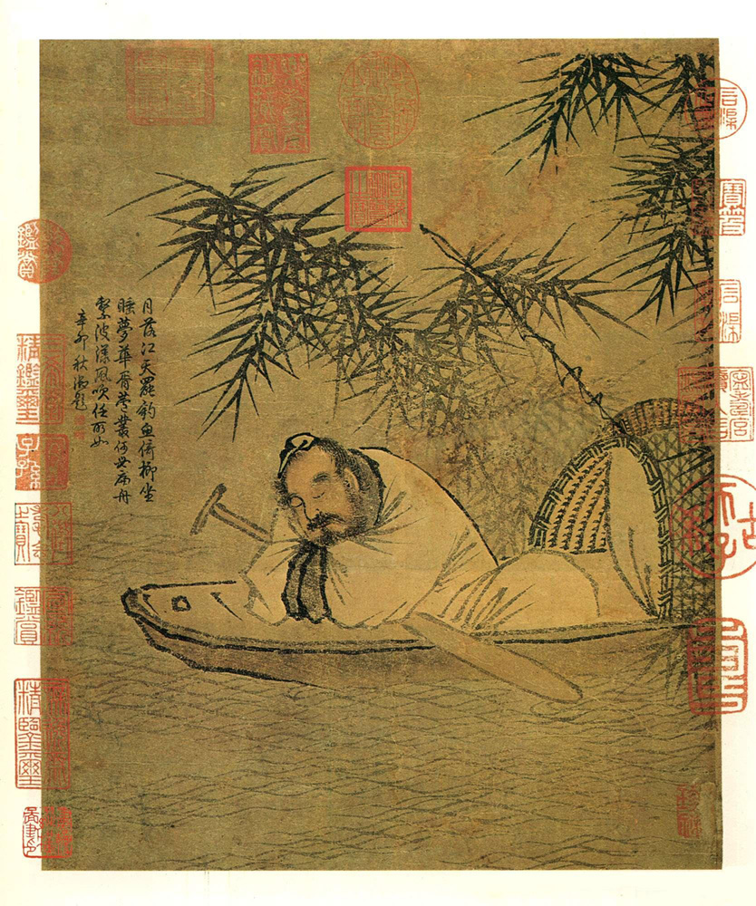 Ma Yuan: Fisherman in Recluse on an Autumn River