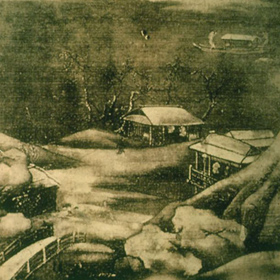 Wang Wei: Snowy Stream