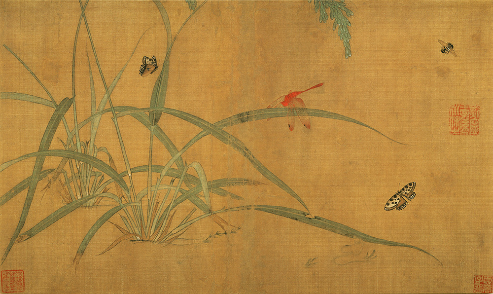 Wu Bing: Rice Plants and Insects