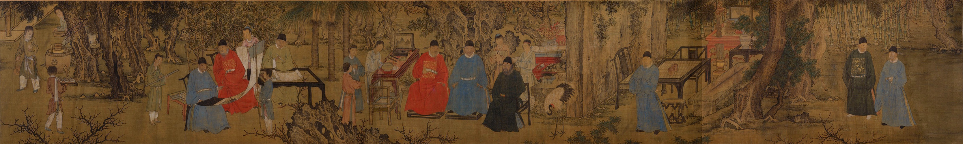 Xie Huan: Elegant Gathering in the Apricot Garden