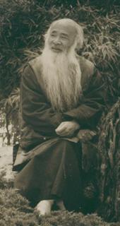 Zhang Daqian Portrait