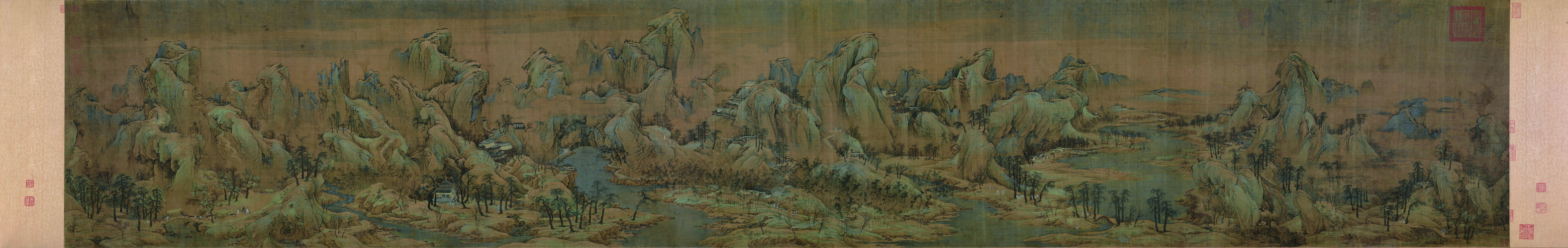 Zhao Boju: Autumn Colors along Rivers and Mountains