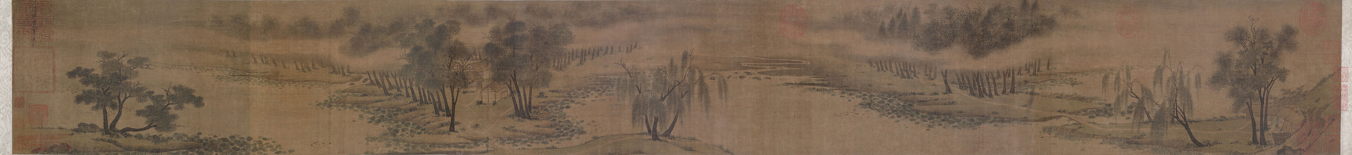 Zhao Lingrang: Whiling Away the Summer by a Lakeside Retreat