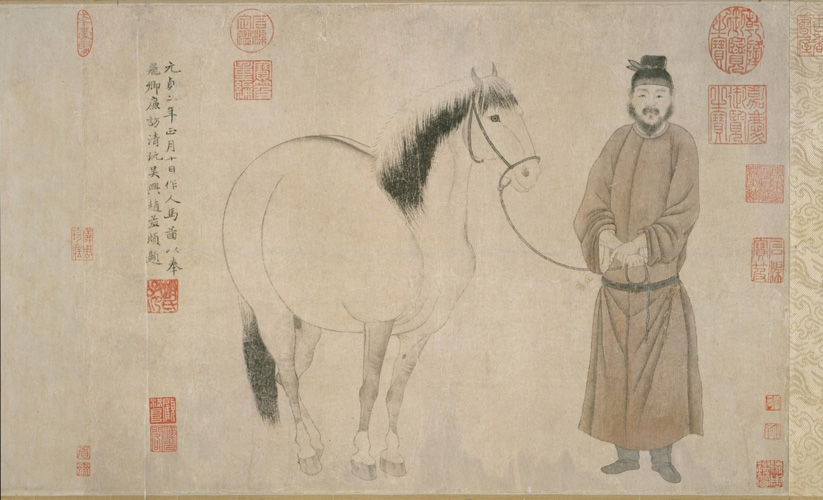 Zhao Mengfu: Man and Horse