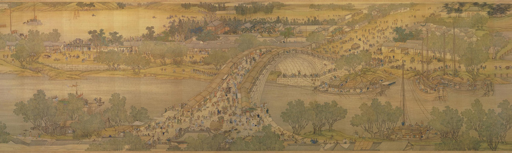 Qing Court: Along the River During the Qingming Festival